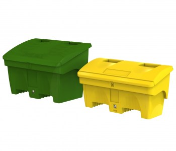 Large and small Grit Bins